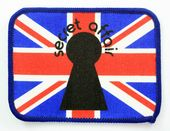 Secret Affair - 'Union Jack' Printed Patch